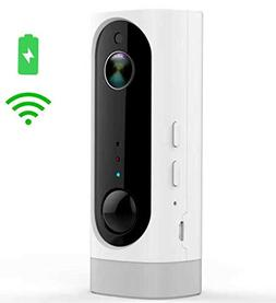 Battery Powered Security Camera, Wireless and Wire-Free, Hom