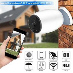 Battery Powered WiFi Wireless Security IP Camera Home Outdoo