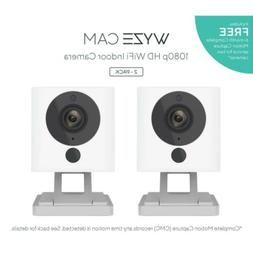 Brand New WyzeCam 2-Pack 1080p HD Wi-Fi Indoor Smart Surveil