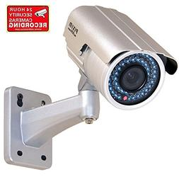 "VideoSecu Bullet Security Camera Outdoor Day Night 1/3"" PIXI"
