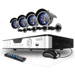 Zmodo Complete 4CH DVR Security Surveillance Camera System 4