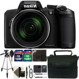 Nikon Coolpix B600 60x Wi-Fi Digital Camera with Complet acc