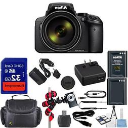 Nikon Coolpix P900 Wi-Fi 83x Zoom Digital Camera + Extra Rep