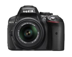 Nikon D5300 24.2 MP CMOS Digital SLR Camera with 18-55mm f/3