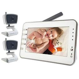 Dual Mode Baby Monitor 2 Cameras  Big LCD Night Vision Tempe