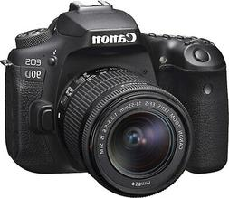 Canon EOS 90D 32.5MP 4K Digital SLR Camera with 18-55mm EF-S