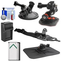 Essentials Bundle for Sony Action Cam HDR-AS30V, AS20, AS15