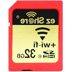 ez Share 8GB 16GB 32 GB Or Adapter WiFi SDHC card Class10 SD