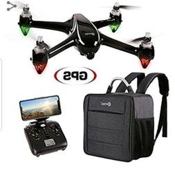 Contixo F18 RC Quadcopter Drone 1080p WiFi Camera GPS Includ