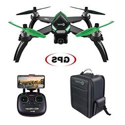 Contixo F20 RC Quadcopter Drone with GPS and 1080p HD WiFi C