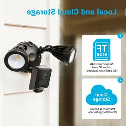 ANNKE Floodlight CCTV Camera Outdoor Security Camera Black T