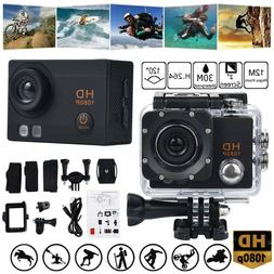 Full HD 1080P Waterproof DVR 2.0inch Sports Camera WiFi Cam