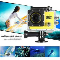 "Full HD Wifi Action Sports Camera 2.0"" LCD 12MP 1080P 30FPS"