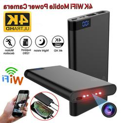hd 1080p hidden 4k wifi camera 10000mah