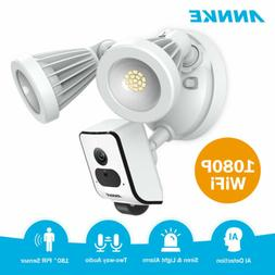 ANNKE HD 1080p IP Floodlight CCTV Camera Wireless Wifi for H