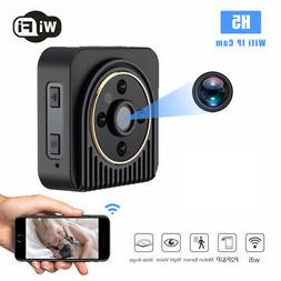 HD 1080P WIFI Mini IP Camera Video Audio Voice Recorder Infr