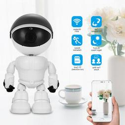 HD 1080P WiFi Robot Security IP Camera Night Vision Two way