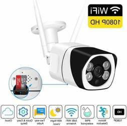 HD 1080P WiFi Wireless Security IP Camera CCTV Outdoor Home