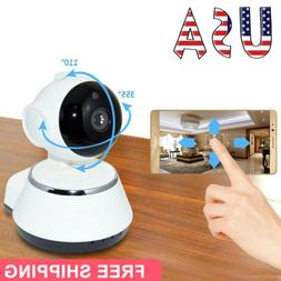 HD 720P Wireless Pan Baby Pet Monitor Network Security IP Ca