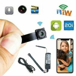 HD Mini Wireless WIF Spy Camera Hidden DIY Module Home Secur