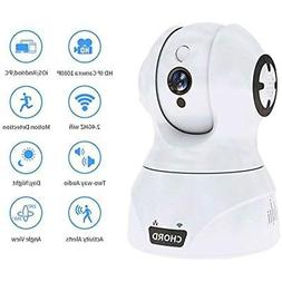 Home Remote Monitoring Systems Camera 1080P, Wi-Fi IP Securi