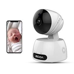 Home Security Camera, Compatible with Alexa Echo Show, AOGE