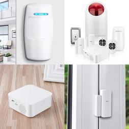 Home Security System Wifi Alarm Kit For & Business W Host Ou