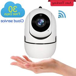 1080P Home Security WiFi IP Camera, Auto Track Wireless Indo