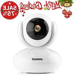 ANNKE IP Camera 720P Smart Wireless Security Camera,Plug and