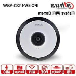 Dahua IPC-EW4431-ASW 4MP Panorama POE WIFI Fisheye IP Camera