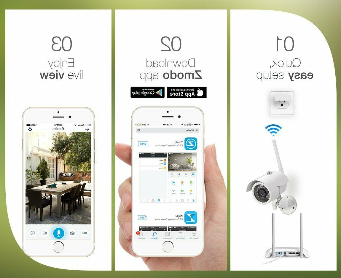 Camera System Smart Outdoor WiFi IP