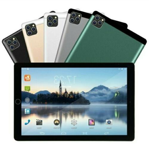 "10.1"" Tablet Android with 3 Bluetooth TF"