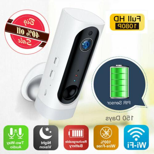 1080p 100 percent wire free battery wifi