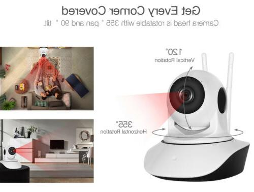 1080P Smart Home Security IP Camera Wi-Fi Wireless Baby
