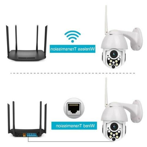 1080p Outdoor IR Vision Network Security