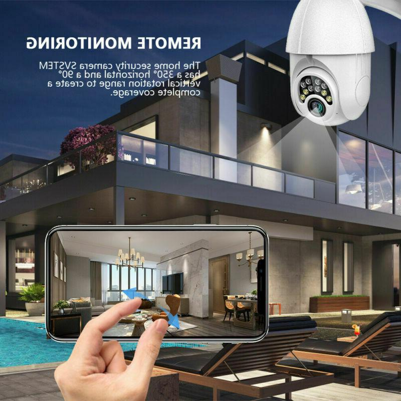 Security WIFI Dome Solar Cam Waterproof 64G