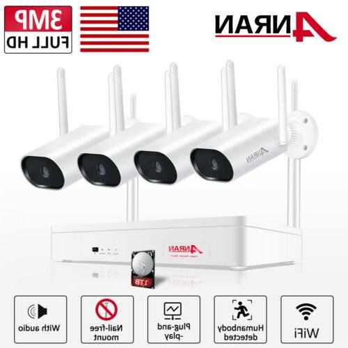 1080p wifi camera security system outdoor cctv