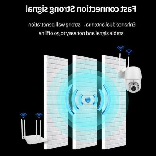 1080P Surveillance with Two-Way Audio or WiFi Outdoor Camera