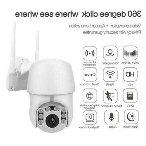 1080P WiFi Cameras with Audio or Camera