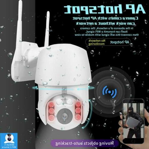 1080p wifi surveillance cameras with two way