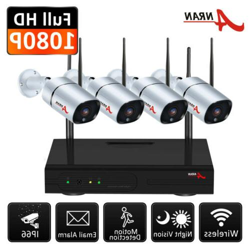 1080P IP Wireless Security Camera System Outdoor WiFi CCTV V