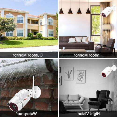 ANRAN Wireless WIFI Video Home Security IP Cameras Vision