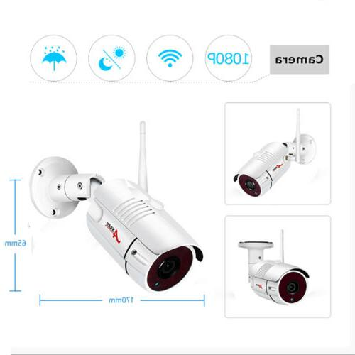 ANRAN 1080P Wireless Video HD Home IP Cameras Night Vision