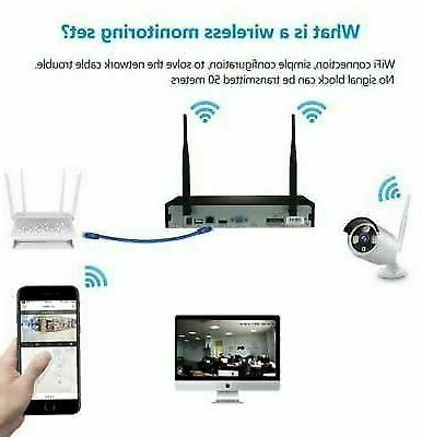 4CH 1080P Outdoor WIFI System-Video