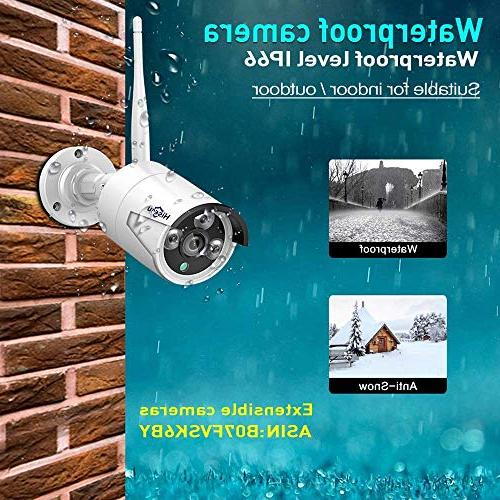 System 1080P 1.3MP Security Surveillance Plug&Play,Easy Pre-Install