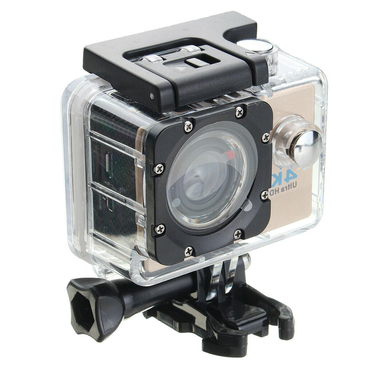 4K Ultra HD 1080P Action Cam Waterproof For Go Pro US