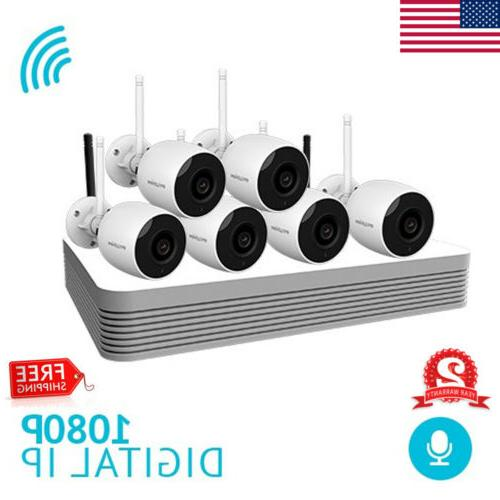8 channel wireless 1080p nvr outdoor home