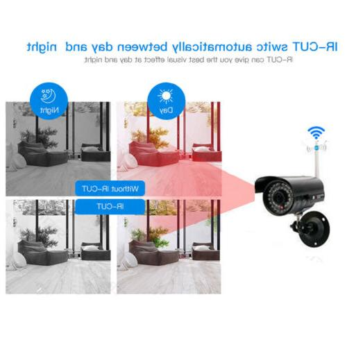 Wireless VGA NVR In/Outdoor HD Camera Video