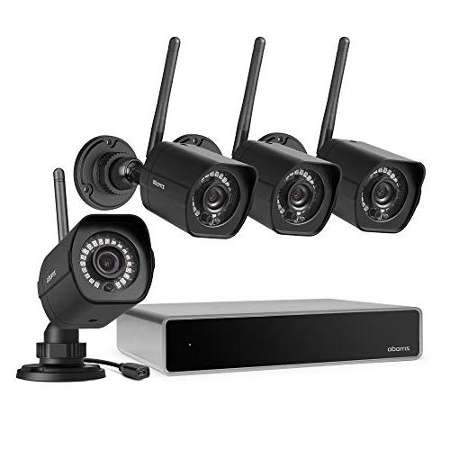 8ch wireless security system