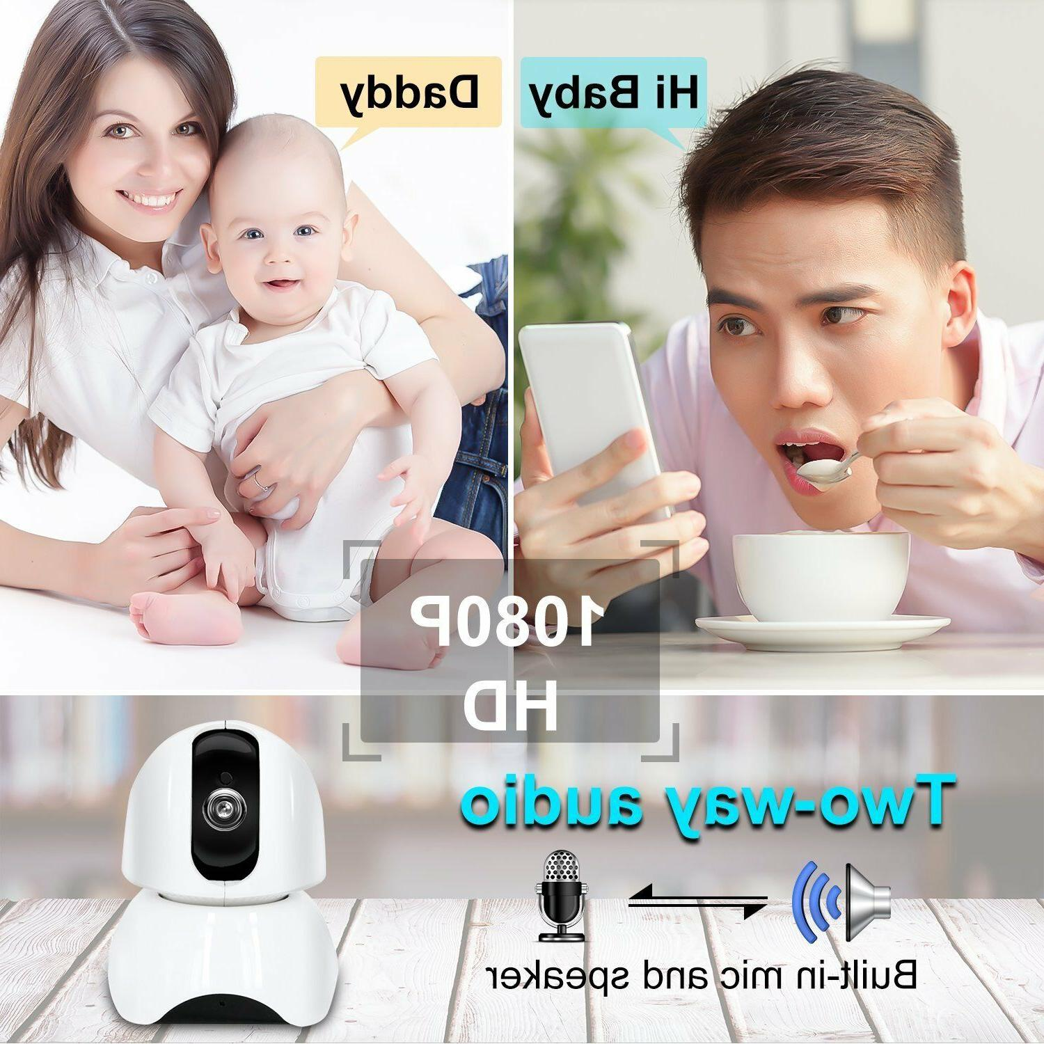 Smart Wireless IP Camera Remote Control For